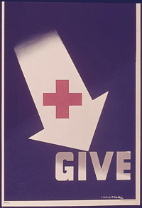American Red Cross World War II Poster